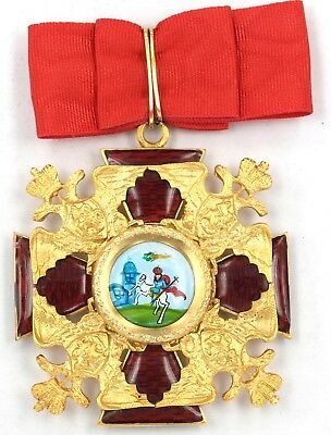 Russian Imperial Order Of St Alexander Nevsky 19Th Century Style Big Cross