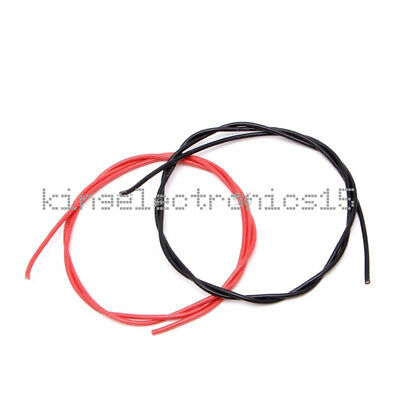 16 AWG Gauge Wire Flexible Silicone Stranded Copper Cables For RC  Red Black