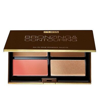 Pupa Bronzing&contouring All In One Powder Palette 003 Pelli Scure