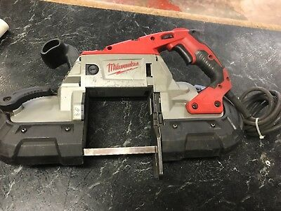 Milwaukee Deep Cut Variable Speed Band Saw with Case P/N 6232-20