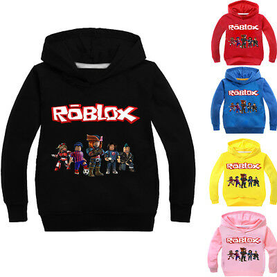 Boys Girls Kids ROBLOX Cotton Casual Spring Fall Hoodies Sweatshirts Pullover