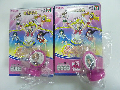 Sailor Moon Sailormoon Uranus Neptune 7-11 Limited Stamper Not Include Candy