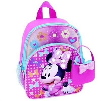 "Disney Minnie Mouse 10"" Toddler Mini Backpack"