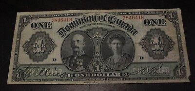 1911 $1 Dominion of Canada DC-18d serie N