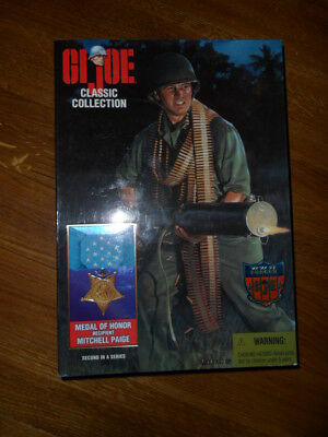 "GI JOE CLASSIC 12"" WW II Forces Collection Limited Edition Medal of Honor Kenner"