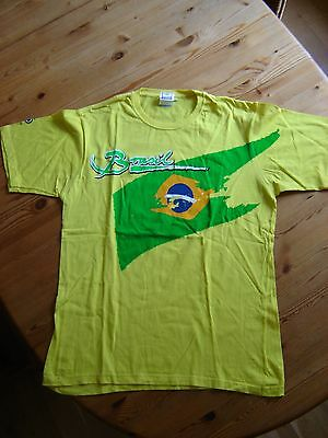 Fußball T-Shirt Brasil / Brasilien - FIFA WORLD CUP GERMANY 2006  - Gr. L