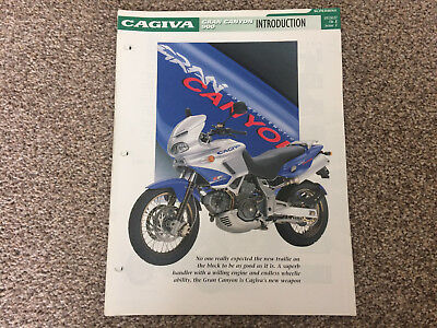 CAGIVA GRAN CANYON 900 The Complete file from Essential Superbikes