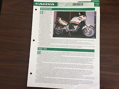 CAGIVA ELEFANT 900  The Genuine Overview Essential Superbikes File
