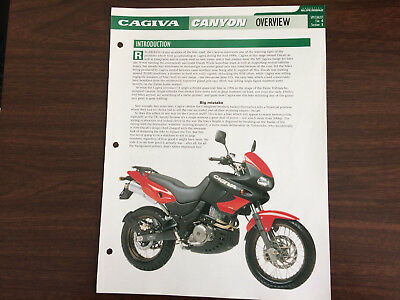 CAGIVA CANYON  The Genuine Overview Essential Superbikes File