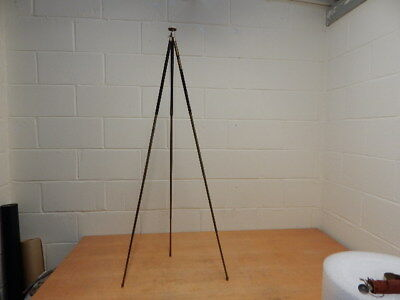 Vintage Brass and Metal Extendable Camera Tripod ~ W. KENNGOTT D.R.P.