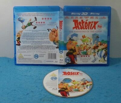 Pelicula Bluray Blu-Ray Ingles - Asterix The Mansion Of Gods