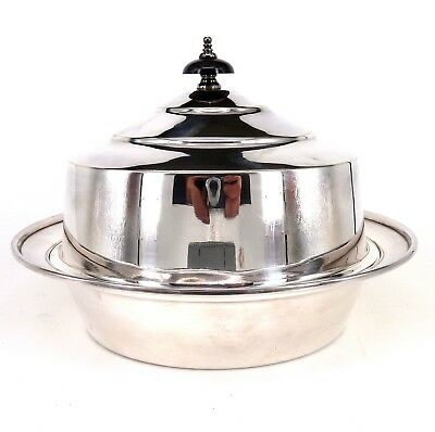 Victorian Silver Lidded Muffin Dish By Harrison Brothers & Howson 1862 - 1897