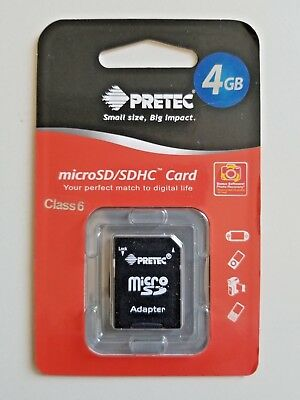 4GB  microSD/SDHC Card (JUST REDUCED)