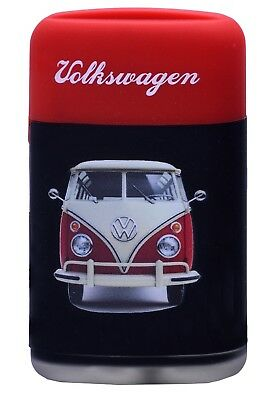 Volkswagen Camper Design Powerful Gas Electronic Lighter Refillable RED