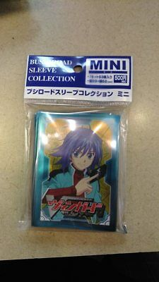 BushiRoad Card Sleeves 62x89mm Cardfight Vanguard aichi sendou pack sealed