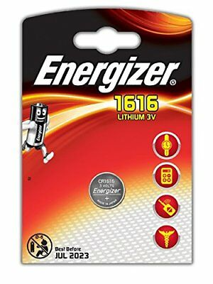 1 x Energizer 1616 CR1616 3V Lithium Coin Cell Battery DL1616 BR1616