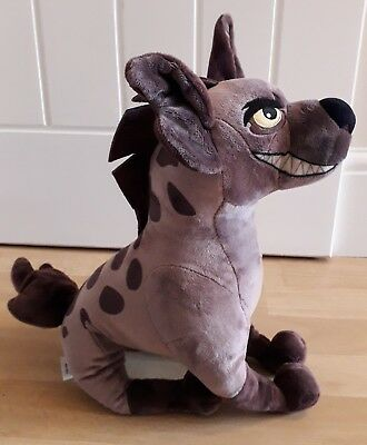 Janja The Hyena Plush Soft Toy From The Lion Guard Disney Store Rare