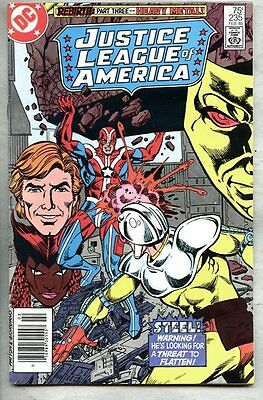Justice League Of America #235-1985 fn+ Overmaster Black Mass Crowbar Fastball
