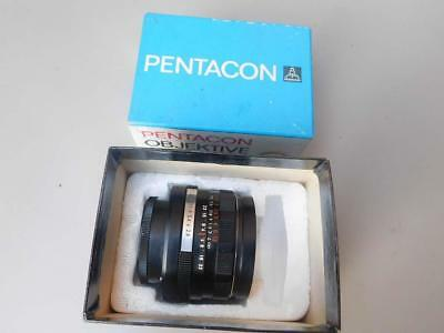 Pentacon electric 2.8 / 29mm - Screw Fit Camera Lens , boxed, made in GDR