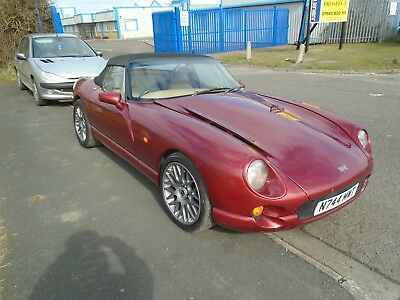 1996 Tvr Chimaera Red Very Rare  5Ltr Hc  V8