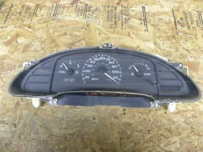 1998 Cavalier Speedometer Clustermanual Onlyno Tachelectric Odometer