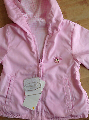 BNWT Mayoral Pink Reversible Lightweight Jacket 12 Months