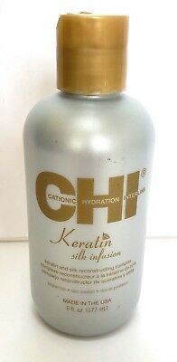 CHI Silk Infusion Keratin Medium Size 6 oz - Guaranteed New - Fresh - Authentic
