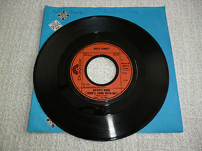 """Single 7"""" Schallplatte Kelly Family Davids Song - Join this Parade 1979"""