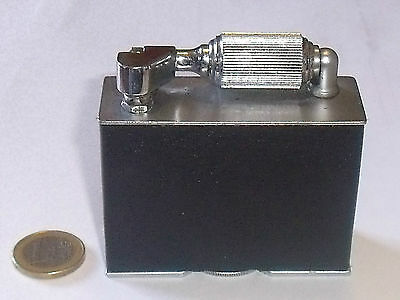 Accendino da tavolo McMurdo 1930 rivestito in pelle, lighter briquet feuerzeug