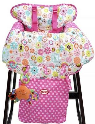 NUBY Baby Seat Shopping Cart & High Chair Cover