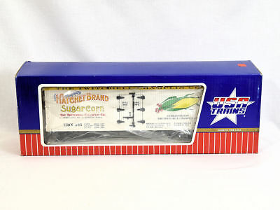 USA Trains R16275 #1 Gauge 1:29 Train Refrigerator Car Hatchet Sugar Corn NEW