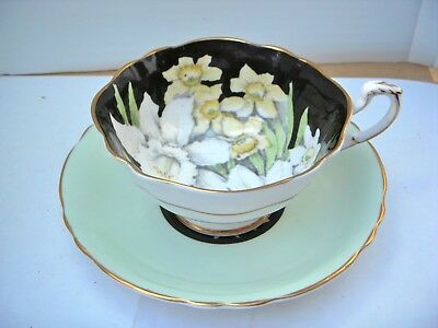 Rare Paragon Spring Bouquet Wide Mouth Cup And Saucer. Exc. Cond.