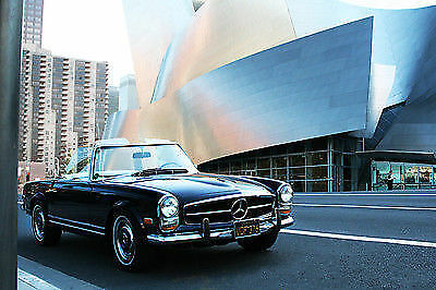 1968 Mercedes-Benz SL-Class 250 convertible/ hard top/ low miles! Must see! 1968 250sl Mercedes Benz midnight blue w/ white interior. Low miles! MUST SEE
