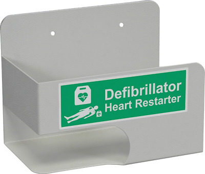 Universal Defibrillator AED Bracket to fit most AED's in Office Industrial Unit