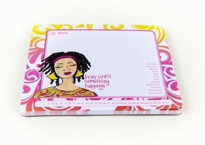 Pray Until Something Happens  Mouse Pad Memo Women Pad Stationary