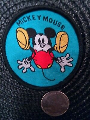"""Mickey Mouse Falling Mickey Sew on patch 2.5"""" x 2.5"""""""