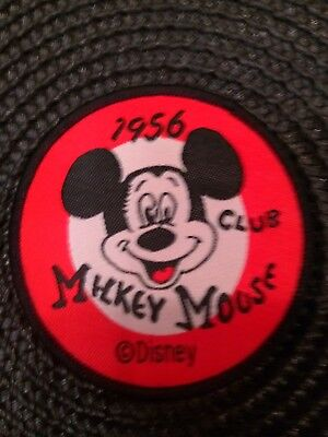 """Mickey Mouse Club 1956  Sew on patch 2.5"""" x 2.5"""""""