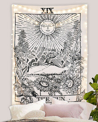 Tarot Tapestry The Sun Tapestry Medieval Europe Divination Tapestry Wall Hanging