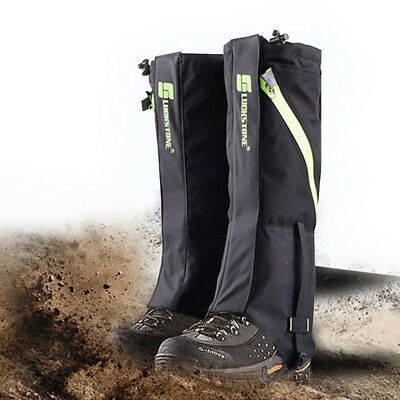 Outdoor Hiking Hunting Snow Boots Legging Gaiters Cover Waterproof Breathable