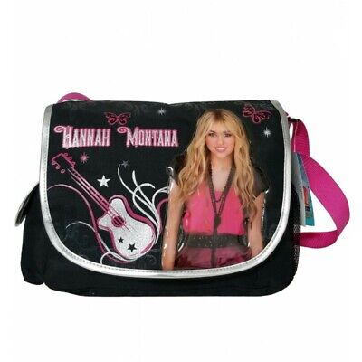 "Hannah Montana Messenger Cross Shoulder Bag 11""H x 15""H x 5"" D - 2031"