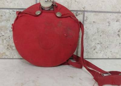 Vintage Boy Scouts Aluminum Canteen With Nylon Case - Free Shipping!