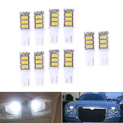 10x Car T10 42 smd LED 1206 Light 42smd w5w 12v White Interior Backup Bulb Lamp