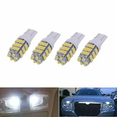 4PCS Car T10 42 smd LED 1206 Light 42smd w5w 12v White Interior Backup Bulb Lamp
