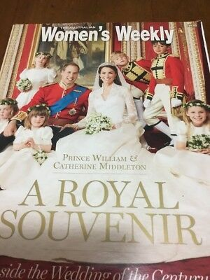 The Australian Women'S Weekly ,a Royal Souvenir,kate And Will