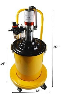 Brand New 5 Gal Air Operated High-Pressure Pneumatic Grease Injector Pump