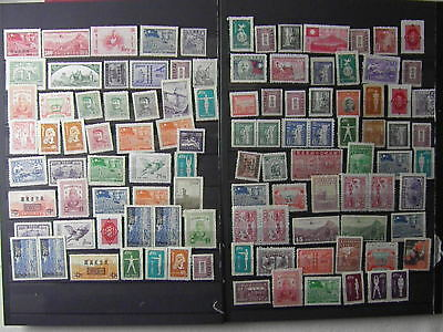 CHINA Sun Yat Sen Mao Air mail Peace Dove P. Due  etc...105 Old Stamps SEE PHOTO
