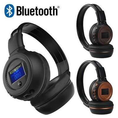 Stereo Bluetooth3.0 Wireless FM SD/TF Card MP3 Headset/Headphones Bulti-in Mic