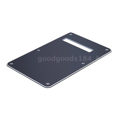 3 Ply Black Backplate Tremolo Cover Back Plate for Electric Guitar V4V9