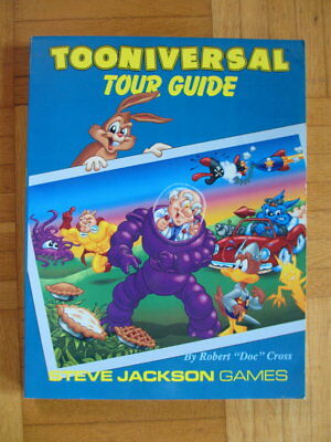 TOON Tooniversal Tour Guide - Cartoon Roleplaying Game - English 7604 Steve Jack