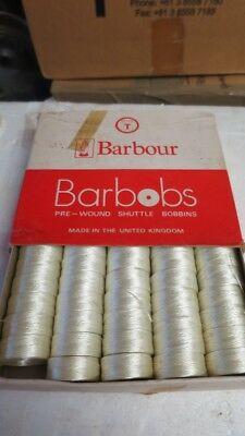 Barbour's Barbobs Nylon Pre-Wound - Sewing Bobbins Coreless Type T